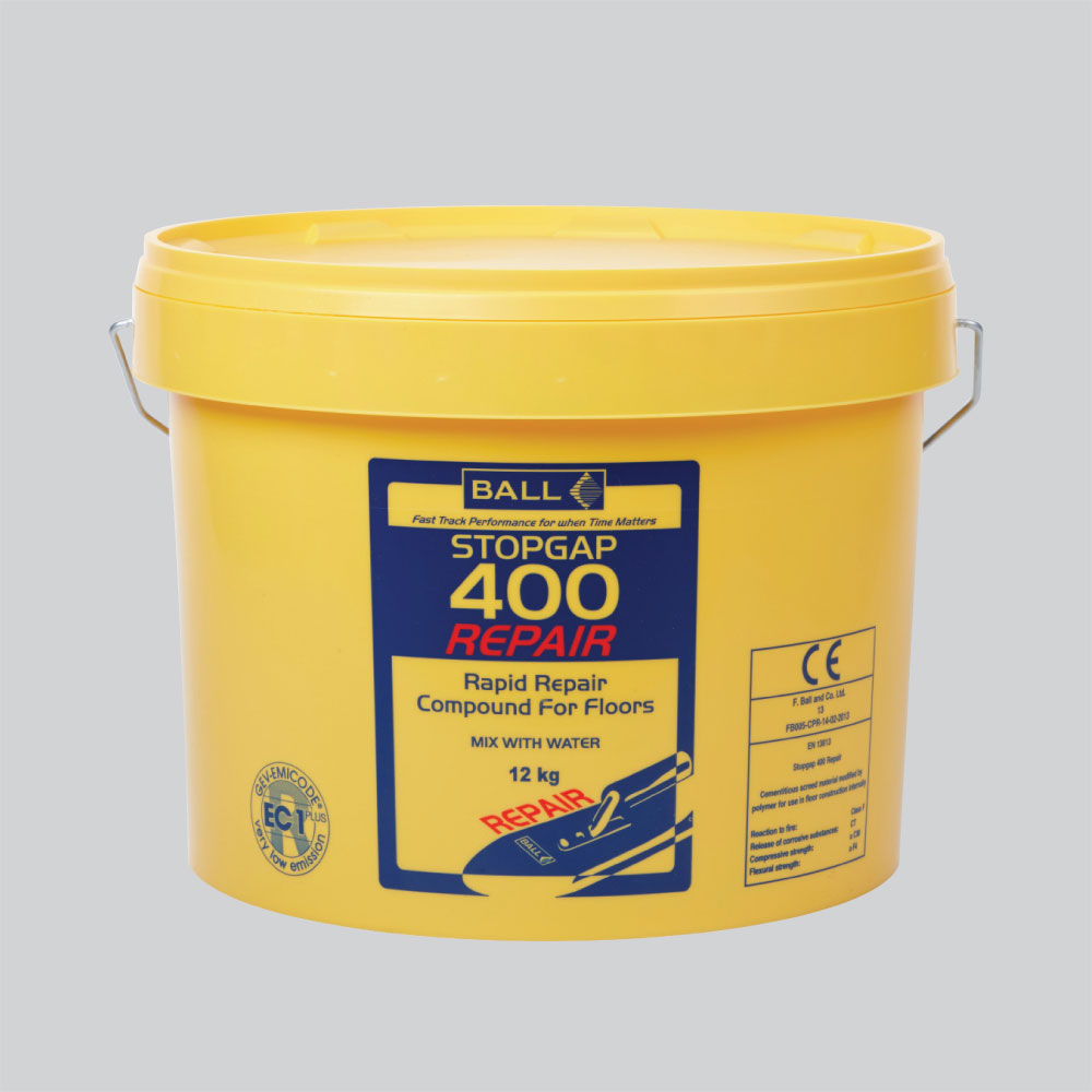 Stopgap 400 Repair Rapid Repair Compound for Floors