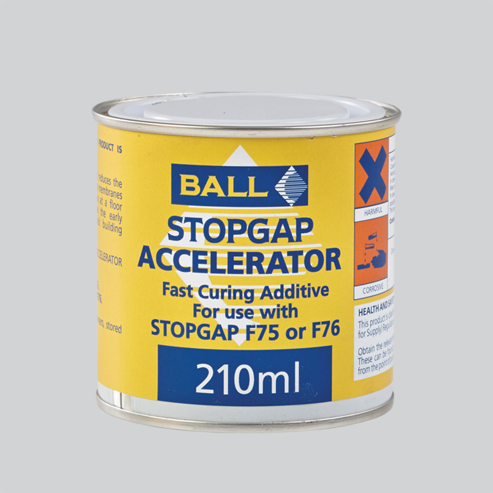 Stopgap Accelerator Fast Curing Additive