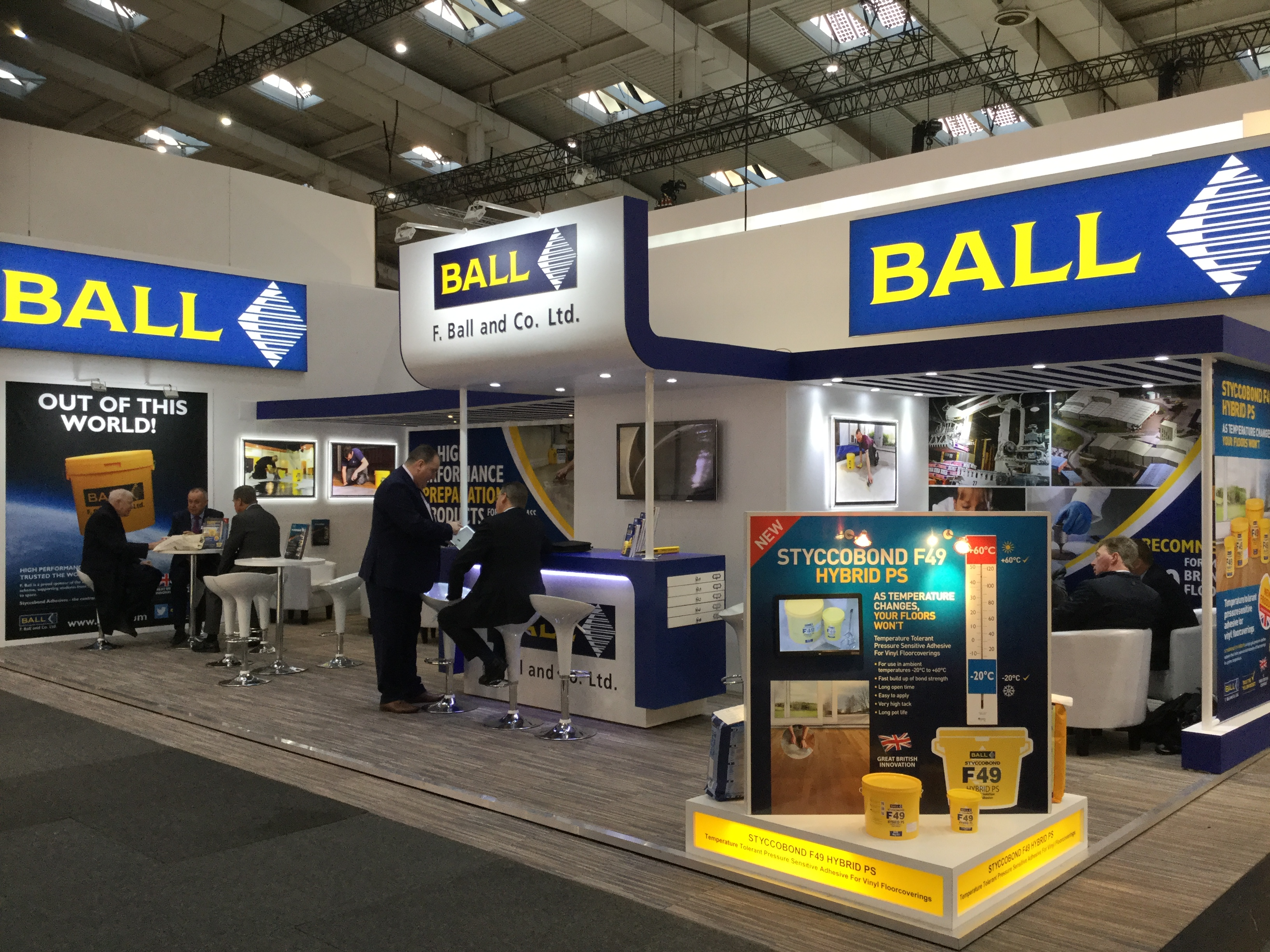 F Ball Looks Forward To Domotex 2018 F Ball Amp Co