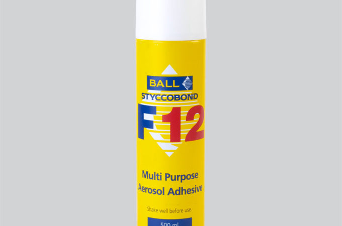 Styccobond F12 Multi-Purpose Aerosol Adhesive