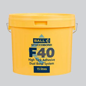 Styccobond F40 High Tack Adhesive - Dual Bond System