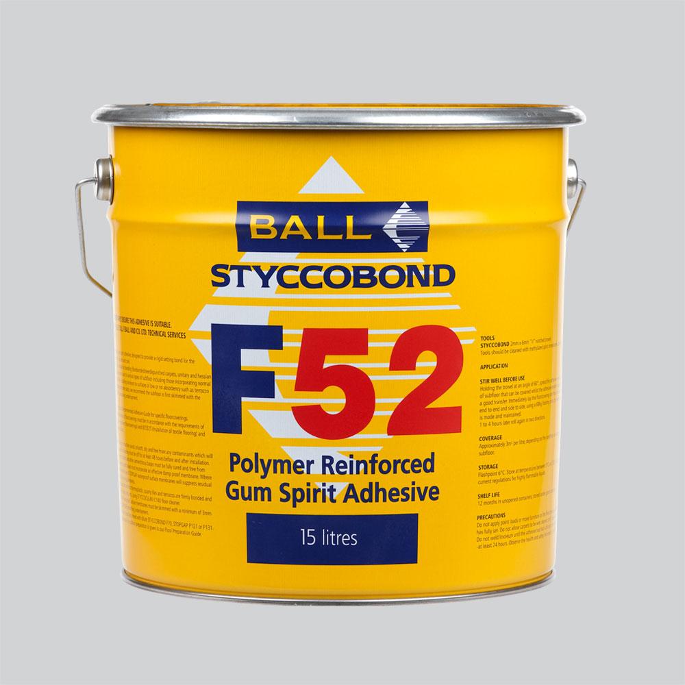 Styccobond F52 Gum Spirit Adhesive
