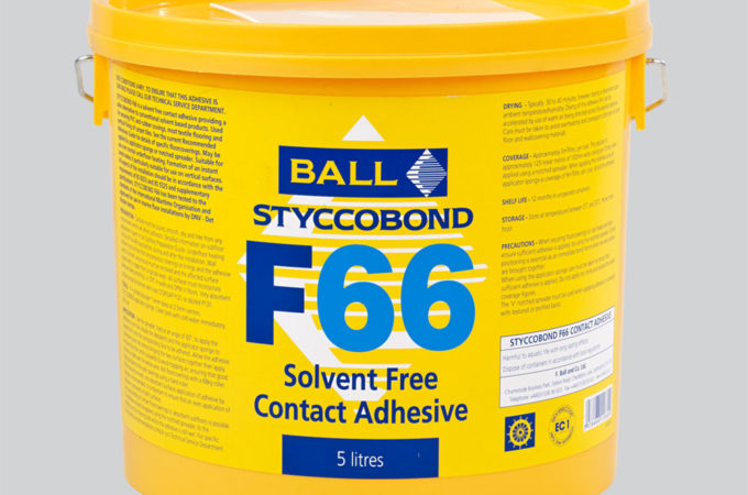 Styccobond F66 Solvent Free Contact Adhesive