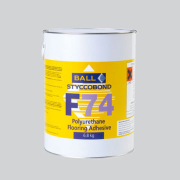 Styccobond F74 Polyurethane Flooring Adhesive