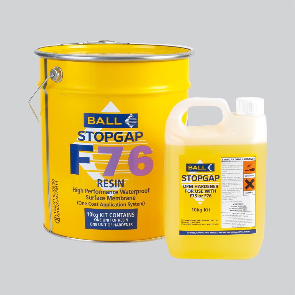 Stopgap F76 High Performance Waterproof Surface Membrane