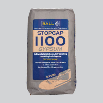 Stopgap 1100 Gypsum Calcium Sulphate Based Underlayment