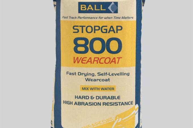 Stopgap 800 Wearcoat Self-Levelling Wearing Surface