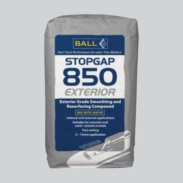 Stopgap 850 Exterior Exterior Floor Smoothing Compound