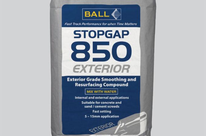 Stopgap 850 Exterior Exterior Floor Smoothing Compound