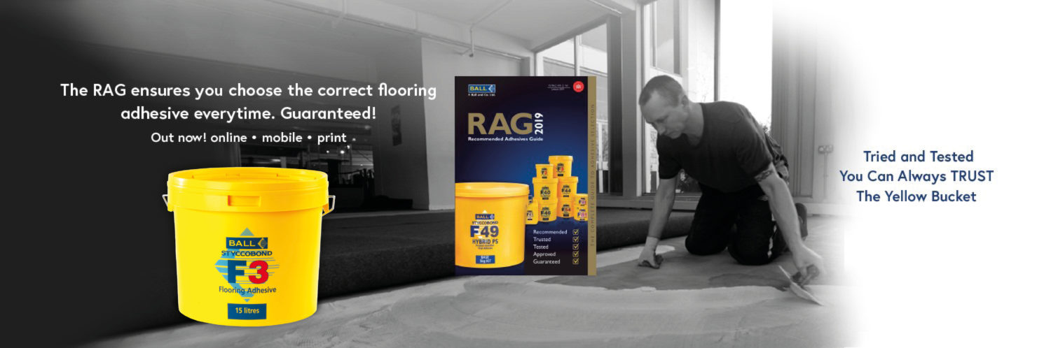 Flooring Adhesive Manufacturers UK | F Ball & Co